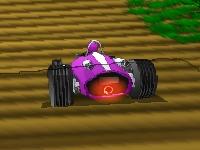 Флеш игра Экстремальные гонки на багги 3
