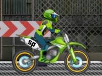 Флеш игра Экстремальные соревнования на мотоцикле