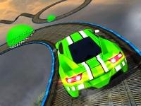 Флеш игра Экстремальные трюки на машине 3D