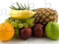 Флеш игра Экзотические фрукты: Пазл