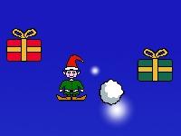 Флеш игра Эльф и подарки