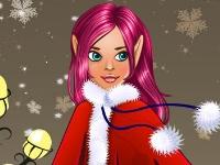 Флеш игра Эльфийка на декабрьской обложке модного журнала