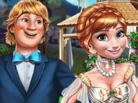 Флеш игра Эльза готовит свадьбу для Анны
