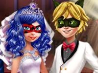 Флеш игра Эльза на свадьбе Леди Баг