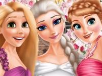 Флеш игра Эльза выходит замуж