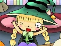 Флеш игра Эмма находит друга в ночь на Хэллоуин