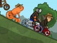 Флеш игра Эпические гонки на велосипедах