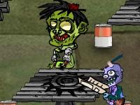 Флеш игра Ешь мои ноги, Зомби!