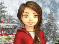 Флеш игра Эви и Рождество