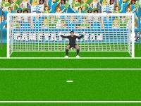 Флеш игра Евро 2012 штрафные удары