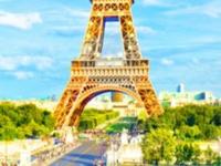Флеш игра Эйфелева башня: Поиск букв