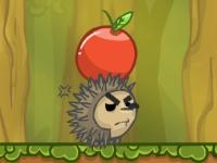 Флеш игра Ежики и яблоки
