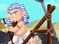 Флеш игра Фараон против мумий