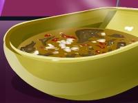 Флеш игра Фасолевый суп с капустой