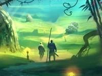 Флеш игра Фэнтези лес: Поиск мишеней