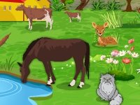 Флеш игра Ферма: Поиск отличий