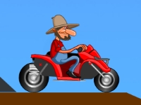 Флеш игра Фермерский мотоцикл