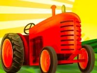 Флеш игра Фермерский трактор: Мойка и починка