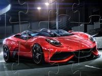 Флеш игра Ferrari Berlinetta: Пазл