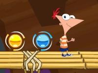 Флеш игра Финес и Ферб: Приключения под землёй