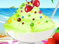 Флеш игра Фисташковое мороженое