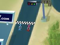 Флеш игра Формула 1 для двоих
