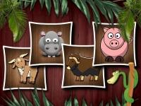 Флеш игра Формы животных 3