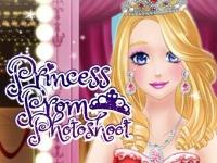Флеш игра Фотосессия принцессы для выпускного