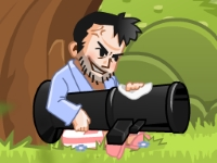 Флеш игра Фруктовая базука