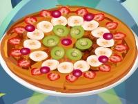 Флеш игра Фруктовая пицца