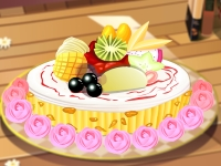 Флеш игра Фруктово-шоколадный пирог