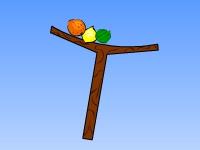 Флеш игра Фруктовый баланс