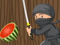 Флеш игра Фруктовый ниндзя
