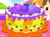 Флеш игра Фруктовый тортик