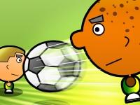 Флеш игра Футбол 1 на 1