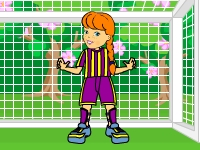 Флеш игра Футбол для девочек