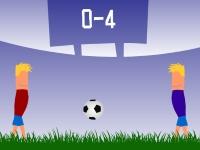 Флеш игра Футбол для двоих