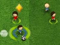 Флеш игра Футбол на двоих