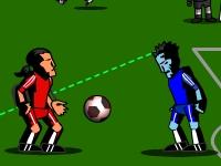 Флеш игра Футбол против зомби
