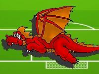 Флеш игра Футбол с драконами