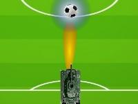 Флеш игра Футбол с военной техникой