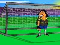Флеш игра Футбол со звездами