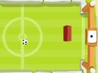Флеш игра Футбол-понг