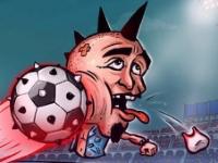 Флеш игра Футбольные баталии брутальных голов
