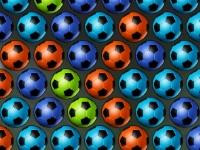 Флеш игра Футбольные мячи-пузырики