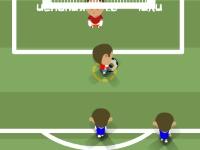 Флеш игра Футбольный чемпионат 2010