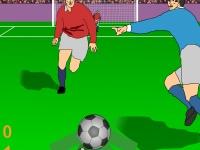 Флеш игра Футбольный прорыв