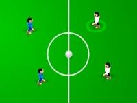 Флеш игра Футбольный турнир 3 на 3