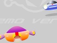 Флеш игра Футуристическая гонка 3D
