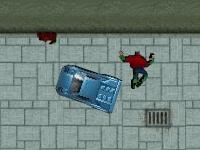 Флеш игра GTA безумие